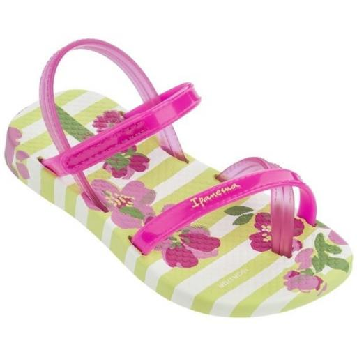 IPANEMA Sandalia Fashion VI Sandal Baby Yellow Pink
