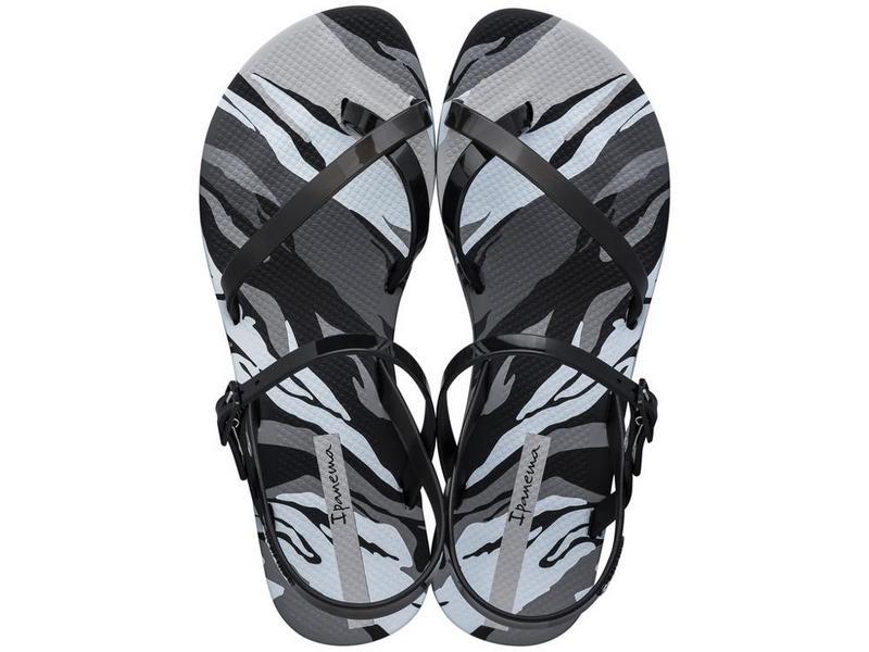 IPANEMA Sandalia Fashion Sand IX Cristina Pedroche Fem Black Black Grey