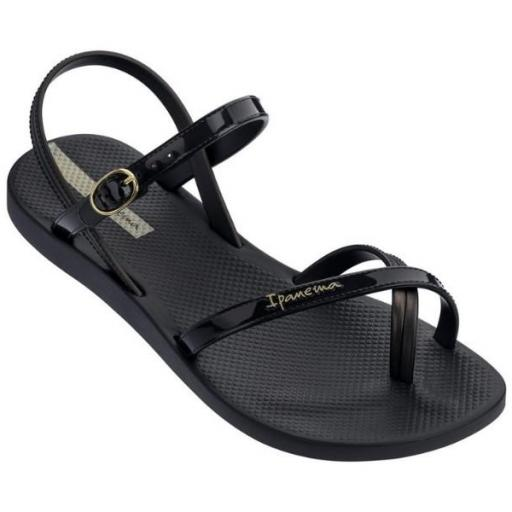 IPANEMA Sandalia Fashion Sand VII Fem Black Black
