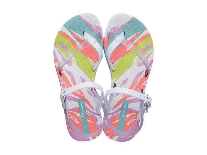 IPANEMA Sandalia Fashion Sand VII Kids White Clear Pink