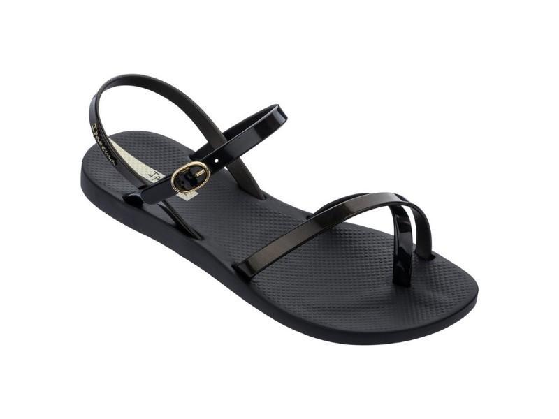 IPANEMA Sandalia Fashion Sand VIII Fem Black Gold Black