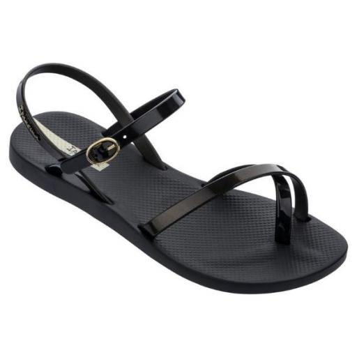 IPANEMA Sandalia Fashion Sand VIII Fem Black Gold Black