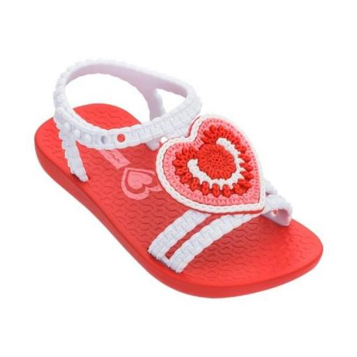IPANEMA Sandalia My First Ipanema V Baby Red White