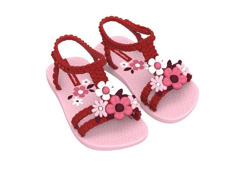 IPANEMA Sandalia My First Ipanema VI Baby Pink Red