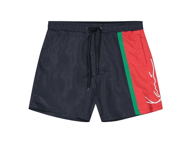 KARL KANI Bañador KK Signature Block Shorts Navy