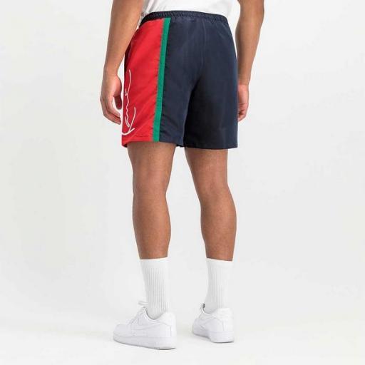 KARL KANI Bañador KK Signature Block Shorts Navy [2]