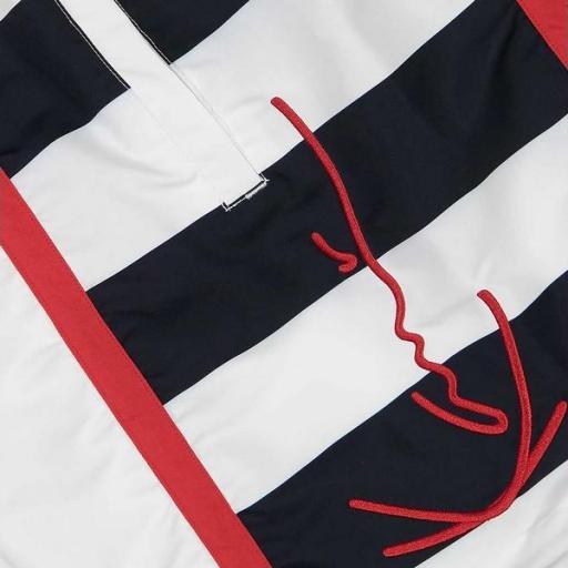 KARL KANI Bañador KK Signature Block Shorts White [3]