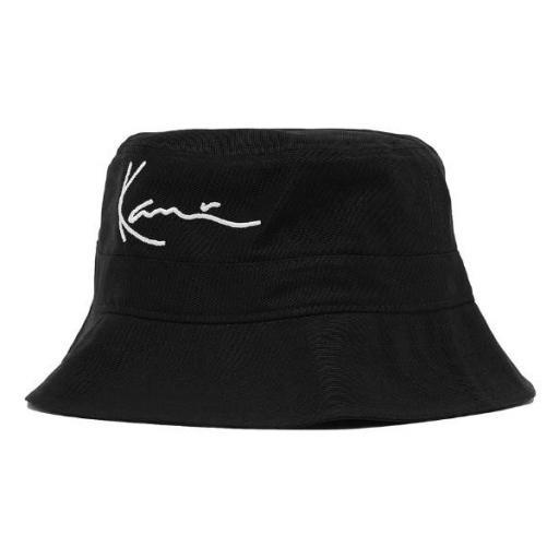 KARL KANI Bucket KK Signature Bucket Hat Black