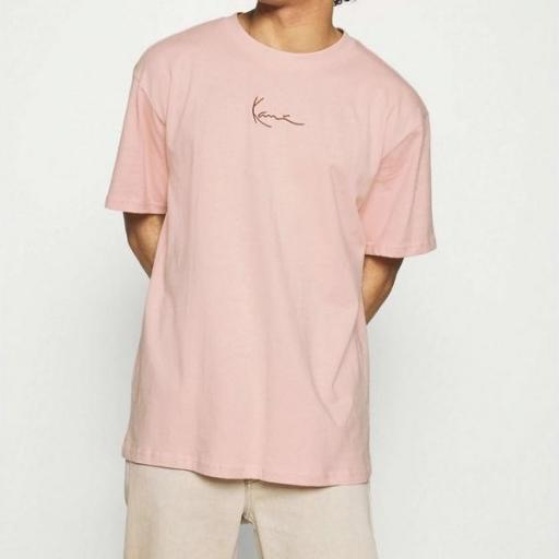 KARL KANI Camiseta KK Small Signature Tee Rose