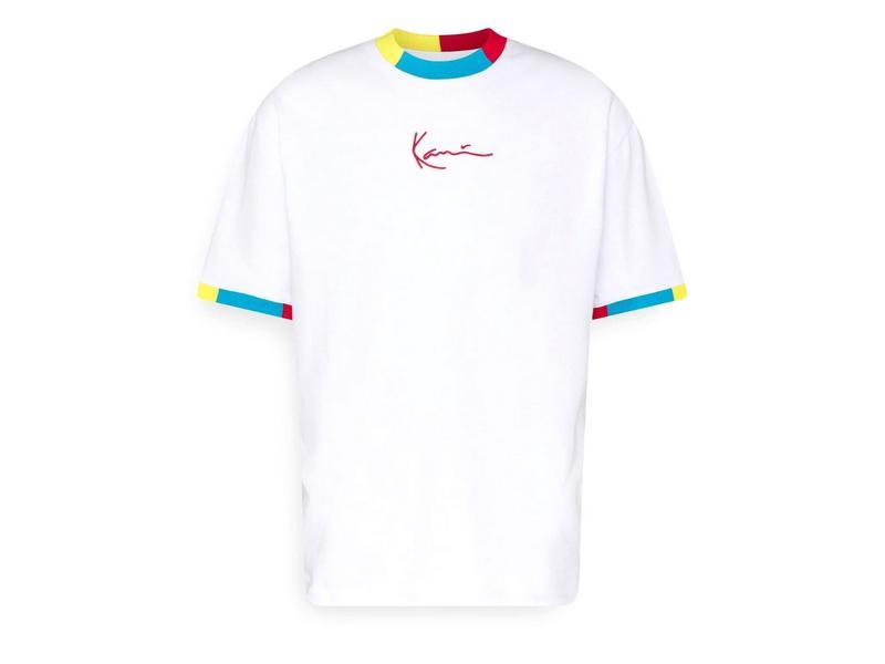 KARL KANI Camiseta KK Small Signature Tee White