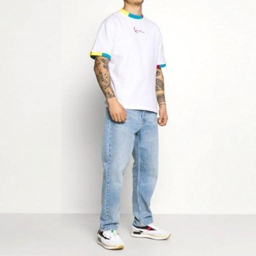 KARL KANI Camiseta KK Small Signature Tee White [2]