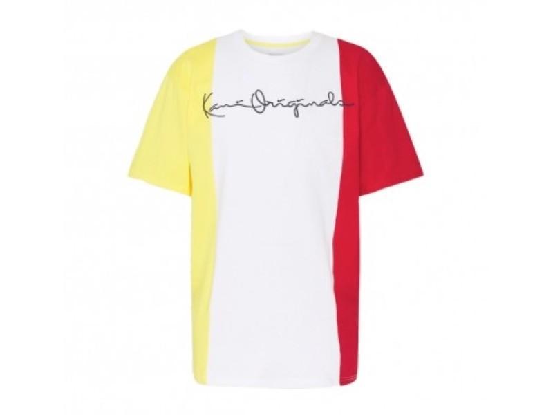 KARL KANI Camiseta Originals Block Tee White