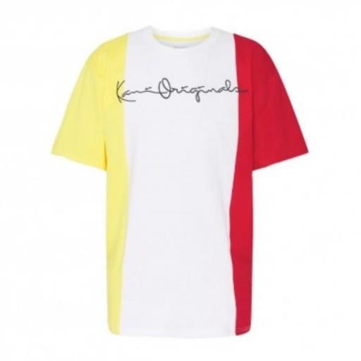 KARL KANI Camiseta Originals Block Tee White [0]