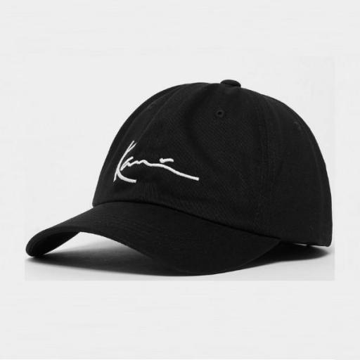 KARL KANI Gorra KK Signature Cap Black White