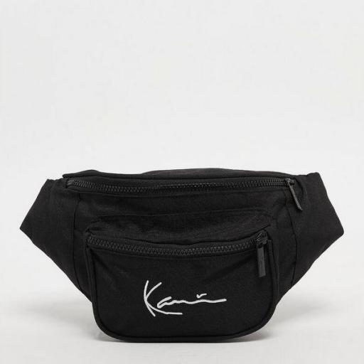 KARL KANI Riñonera KK Signature Tape Waist Bag black