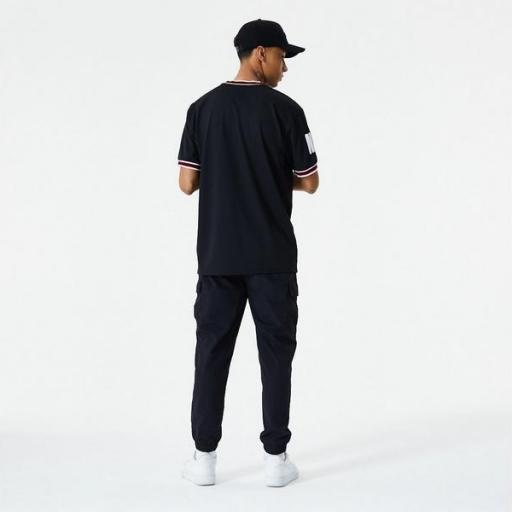 NEW ERA Camiseta Chicago Bulls NBA Oversized Applique Black [3]