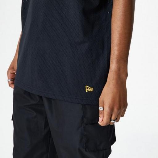 NEW ERA Camiseta Los Ángeles Lakers NBA Oversized Applique Black [1]