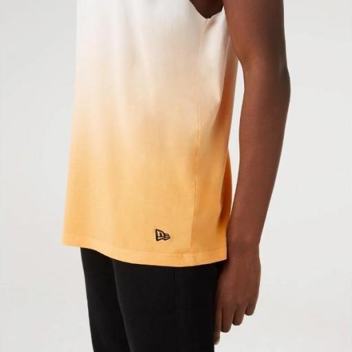 NEW ERA Camiseta NBA DIP DYE Sleeveless Tee Los Ángeles Lakers Gold [0]