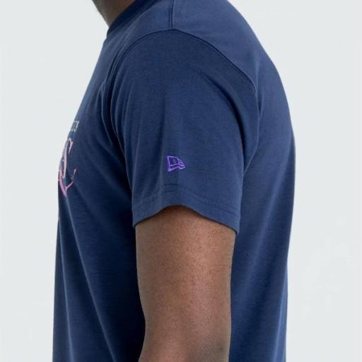 NEW ERA Camiseta NBA Summer City Infill Tee Los Ángeles Lakers Purple [2]