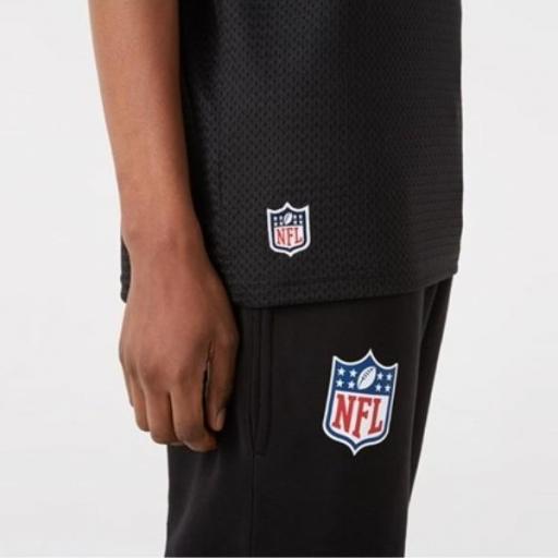 NEW ERA Camiseta NFL Outline Logo Oversized Tee Green Packers Black [2]