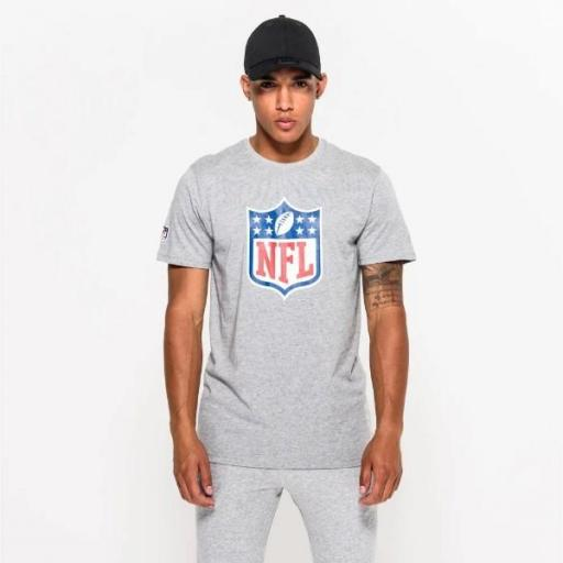 NEW ERA Camiseta NFL Team Logo Tee Grey