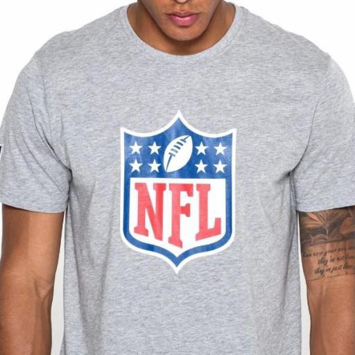 NEW ERA Camiseta NFL Team Logo Tee Grey [2]