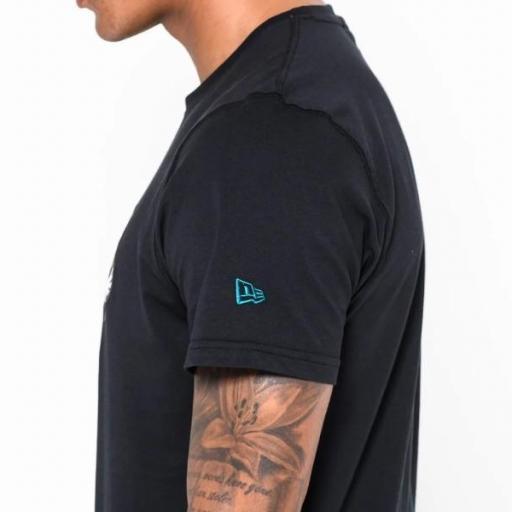 NEW ERA Camiseta NFL Team Logo Tee Jacksonville Jaguars Black [3]