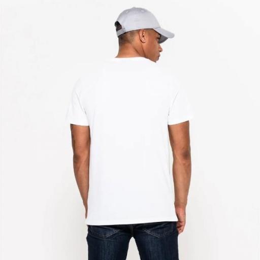 NEW ERA Camiseta NFL Team Logo Tee Miami Dolphin White [0]