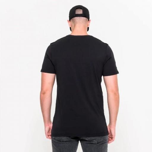 NEW ERA Camiseta NFL Team Logo Tee Philadelphia Eagles Black [0]