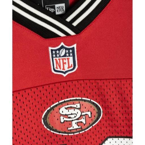 NEW ERA Camiseta NOS NFL Logo Oversized Tee San Franciso 49 Red [1]