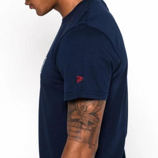 NEW ERA Camiseta NFL Team Logo Tee New England Patriots Navy [3]