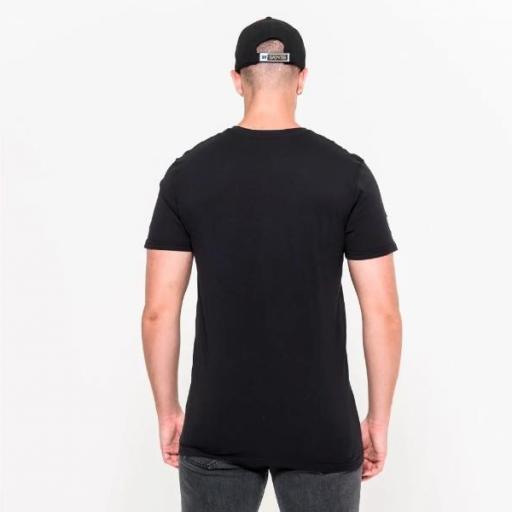 NEW ERA Camiseta NFL Team Logo Tee Nueva Orleans Saints Black [1]