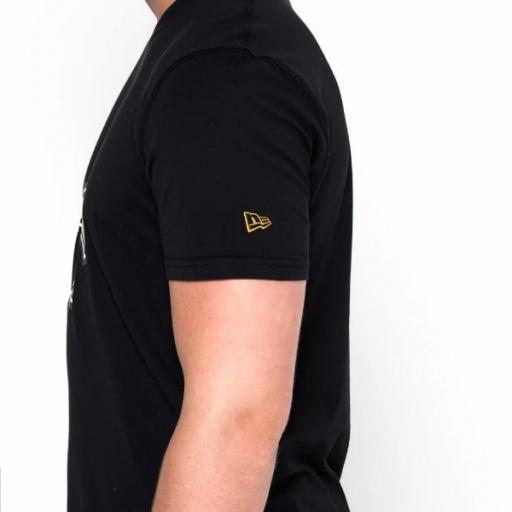 NEW ERA Camiseta NFL Team Logo Tee Nueva Orleans Saints Black [3]