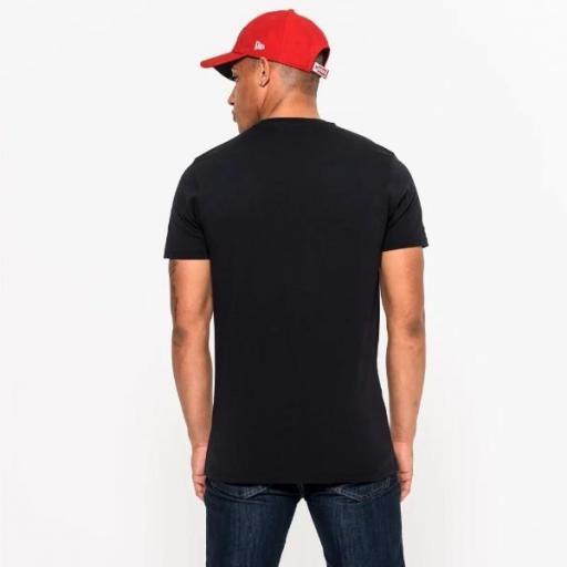 NEW ERA Camiseta NFL Team Logo Tee San Francisco 49ers Black [1]