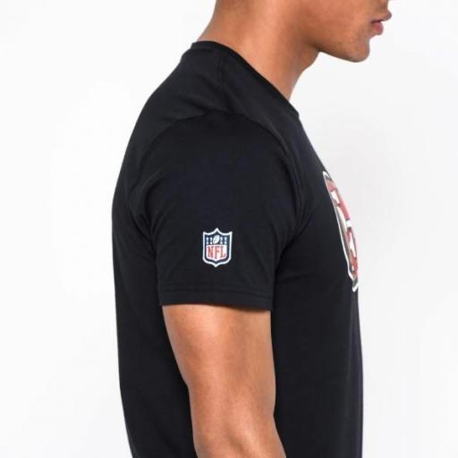 NEW ERA Camiseta NFL Team Logo Tee San Francisco 49ers Black [3]
