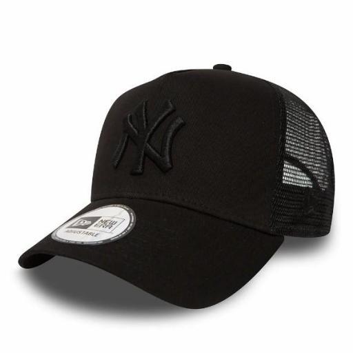 NEW ERA Gorra Clean Trucker New York Yankees Black [0]