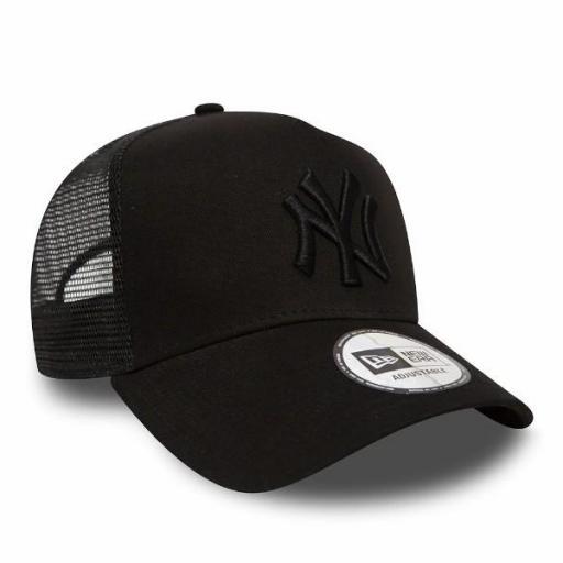 NEW ERA Gorra Clean Trucker New York Yankees Black [1]