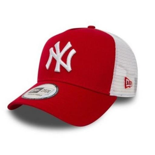 NEW ERA Gorra MLB New York Yankees Trucker Clean A-Frame Red White