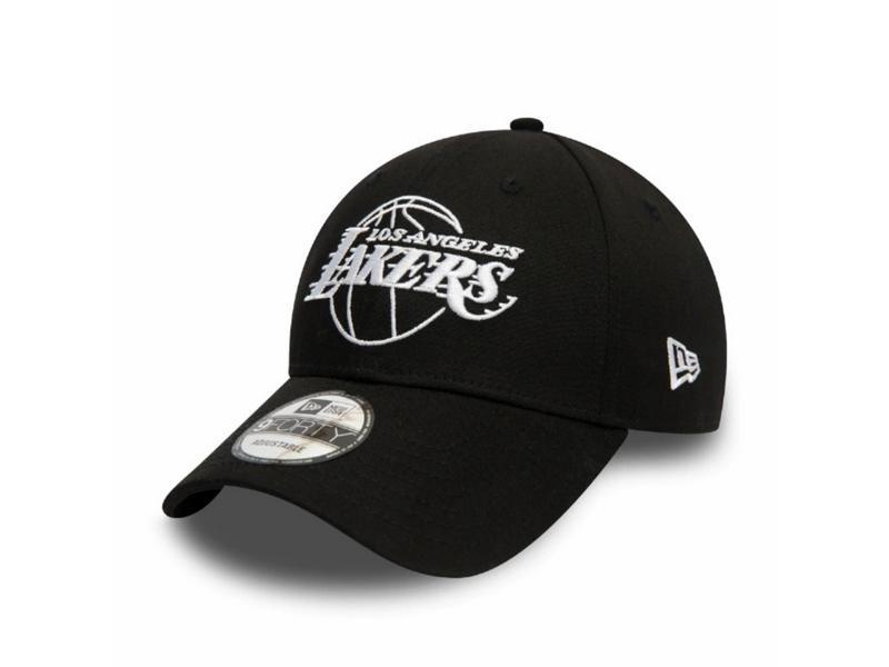 NEW ERA Gorra NBA Essential Outline 940 Los Ángeles Lakers Black