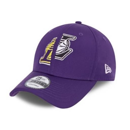 NEW ERA Gorra NBA Los Ángeles Lakers Half 9 Forty Purple