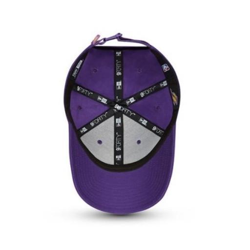 NEW ERA Gorra NBA Los Ángeles Lakers Half 9 Forty Purple [1]