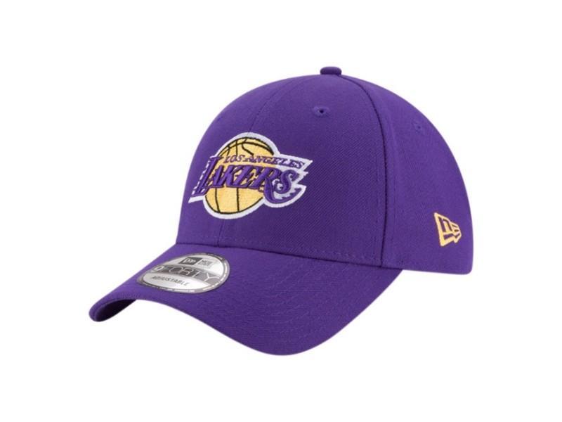 NEW ERA Gorra The League Los Ángeles Lakers OTC Purple Gold