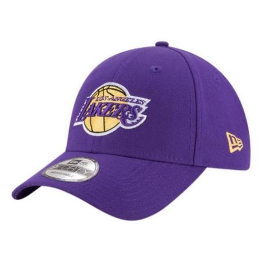 NEW ERA Gorra The League Los Ángeles Lakers OTC Purple Gold