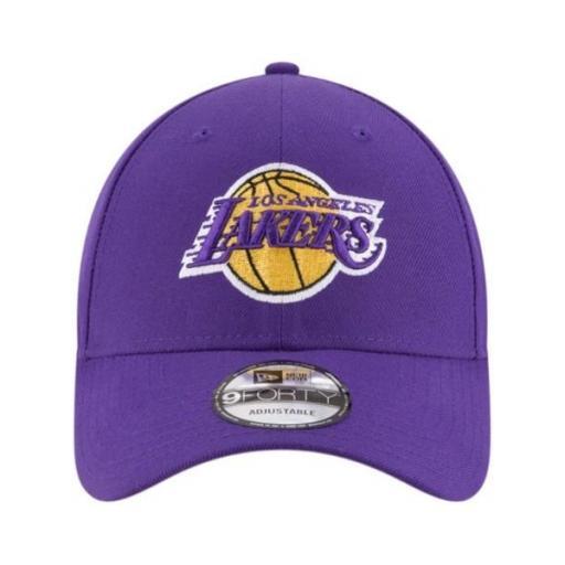 NEW ERA Gorra The League Los Ángeles Lakers OTC Purple Gold [1]