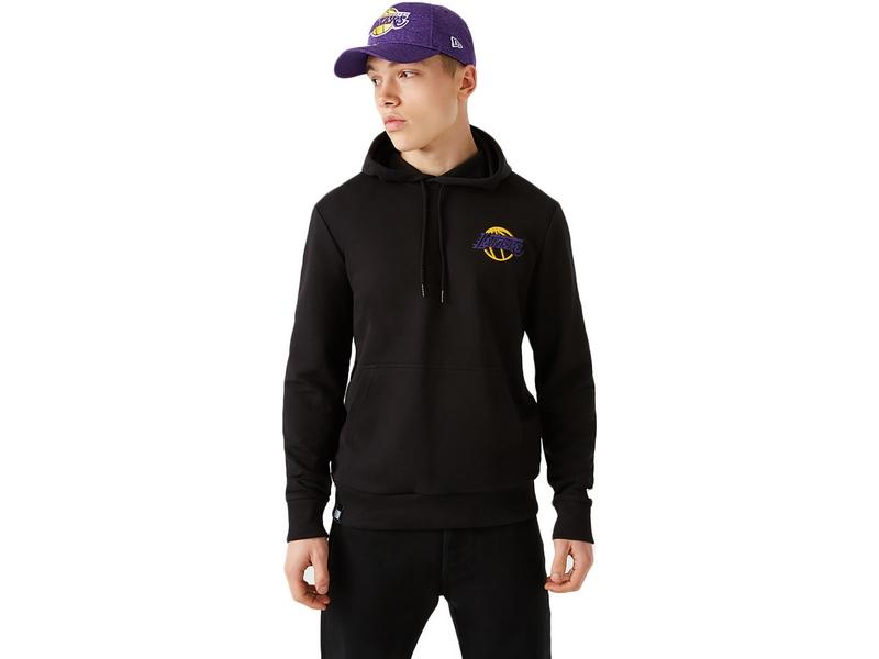 NEW ERA Sudadera NBA Neon PO Hoody Los Ángeles Lakers Black