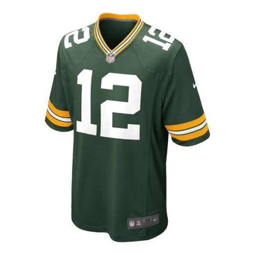 NIKE Camiseta NFL Game Team Colour Jersey Player Green Bay Packers Fir [1]