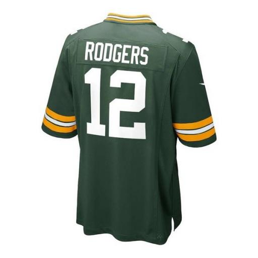 NIKE Camiseta NFL Game Team Colour Jersey Player Green Bay Packers Fir [2]