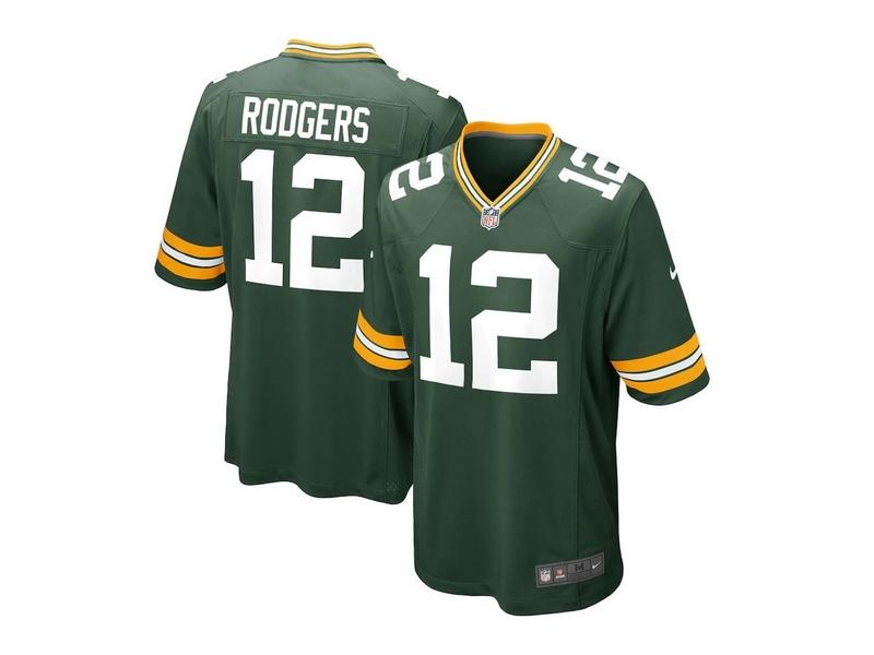 NIKE Camiseta NFL Game Team Colour Jersey Player Green Bay Packers Fir