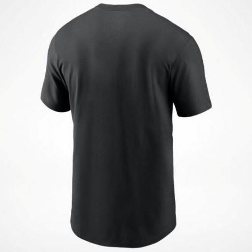 NIKE Camiseta NFL Logo Essential T-Shirt Las Vegas Raiders Black [1]