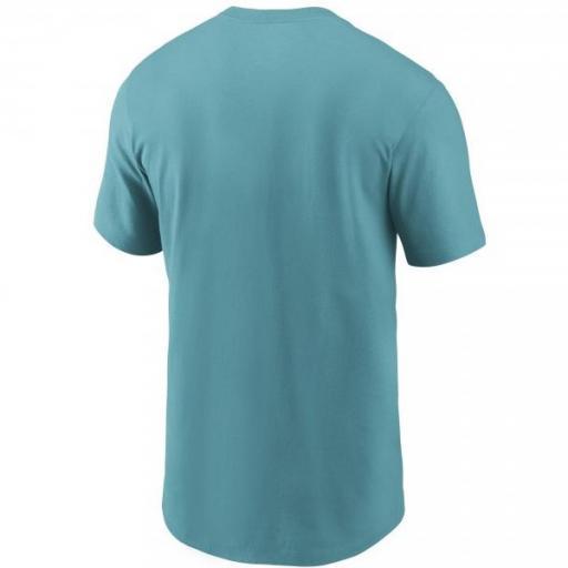 NIKE Camiseta NFL Logo Essential T-Shirt Miami Dolphins Turbo Green [1]